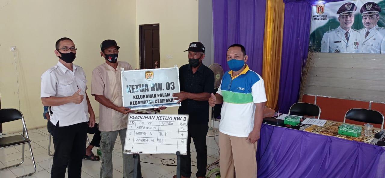 Pemilihan Ketua RW.003 Kelurahan Palam