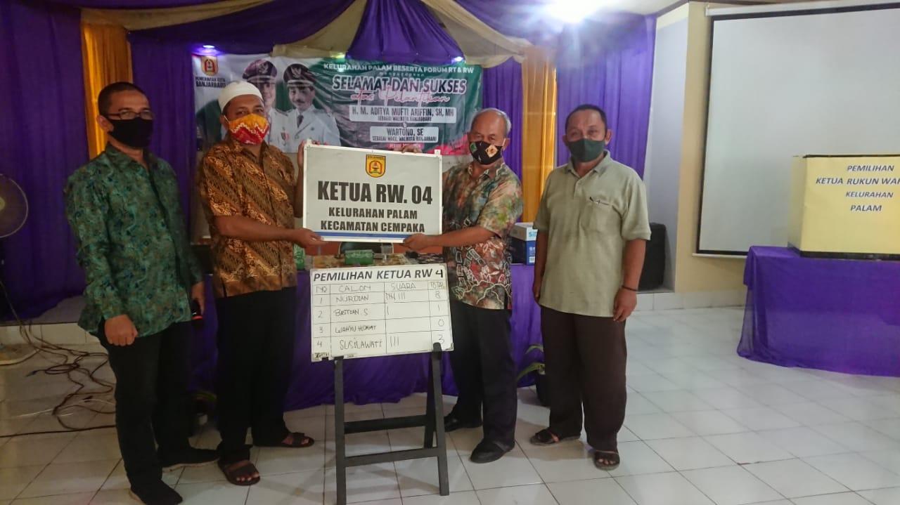 Pemilihan Ketua RW.004 Kelurahan Palam