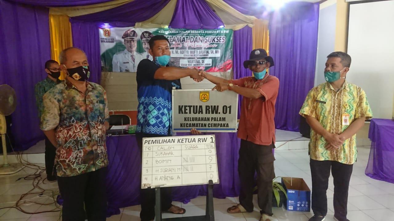Pemilihan Ketua RW.001 Kelurahan Palam