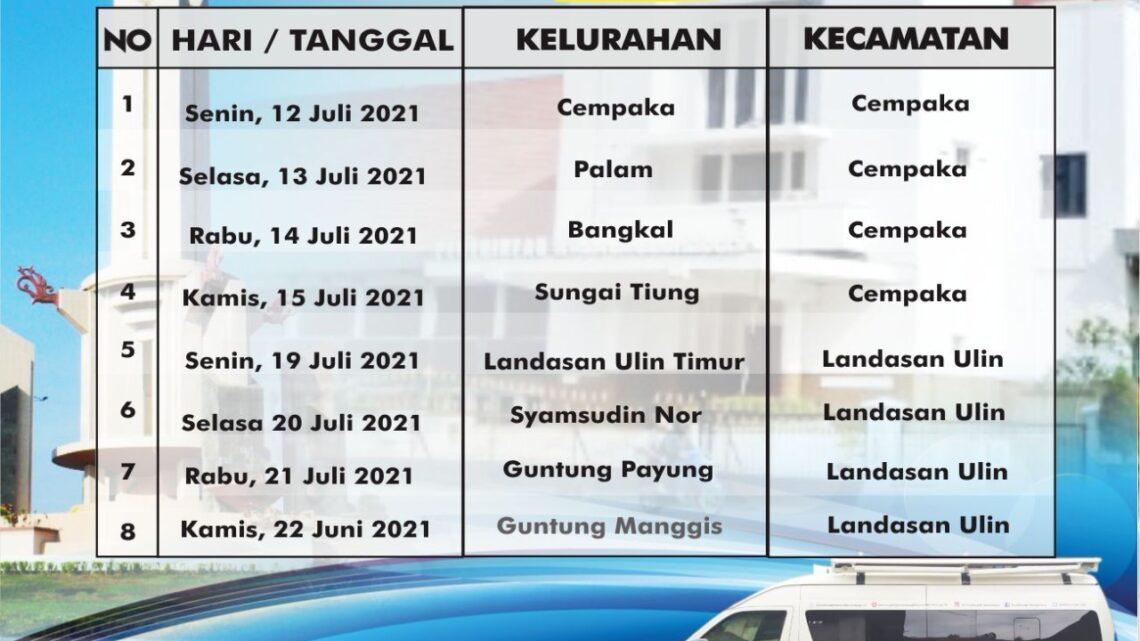 Jadwal Rekap E-KTP di Kelurahan Palam